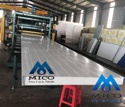 Panel EPS ( Tôn xốp EPS, Sandwich Panel EPS)