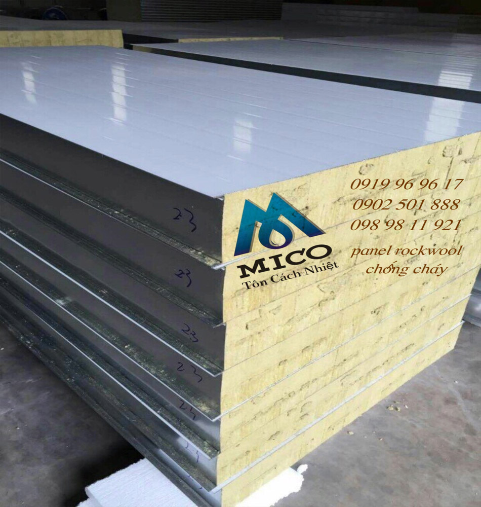 ton cach nhiet panel rockwool panel rockwool chong chay 2